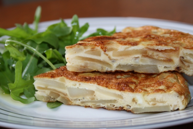 Hiszpański omlet czyli Tortilla de patatas